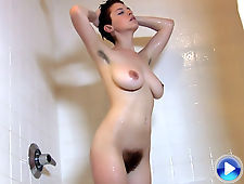 Steamy, sensual, shower with RyAnne
