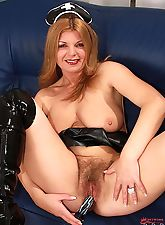 Introducing Hairy Twatters horny redheaded asylum babe Susi!