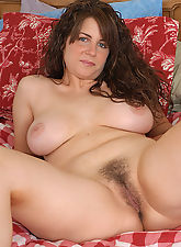 hairy nude women, Tori strips to reavela big natural tits and a full bush